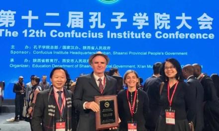 L'Institut Confucius de La Réunion, «meilleur Institut Confucius de l'année»