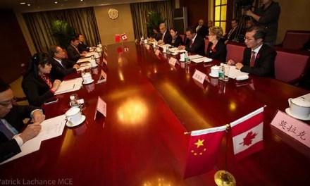 Les relations sino-canadiennes pas prêtes de reprendre leur cours