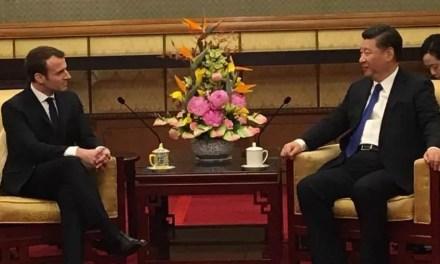 «L'ami Macron» arrivé en Chine
