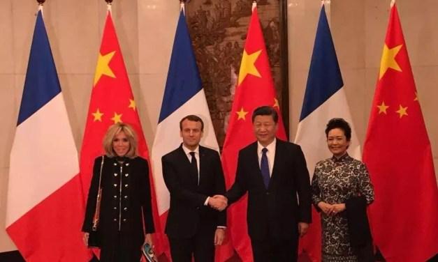 Emmanuel Macron appelle la Chine à être «partenaire» en Afrique