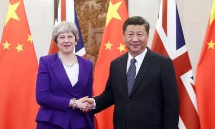 Theresa May et Xi Jinping veulent s'assurer de meilleures relations