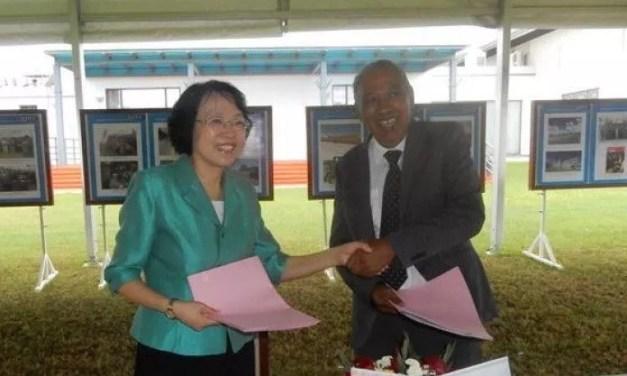 La Croix-Rouge de Chine fait don d'équipements à la Croix-Rouge de Madagascar