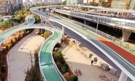 300 km de pistes cyclables et piétonnes d'ici 2020