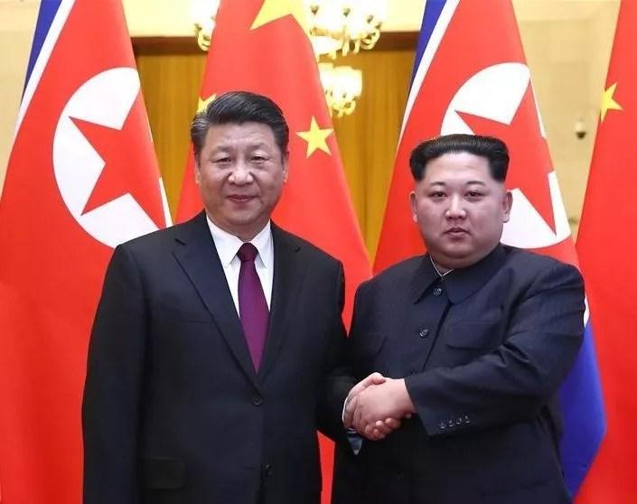 Kim Jong-un fait part de ses inquiétudes à Xi Jinping