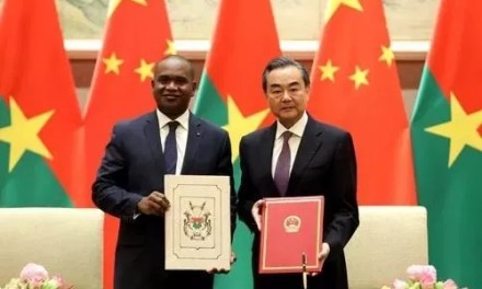 Ouverture de l'ambassade de Chine au Burkina Faso