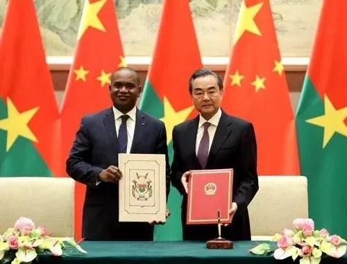 Le Burkina Faso et la Chine fixent les domaines de coopération