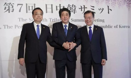 La Chine, le Japon et la Corée du sud veulent la dénucléarisation