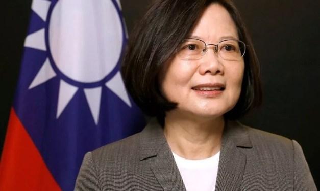Tsai Ing-wen appelle la communauté internationale à l'aide