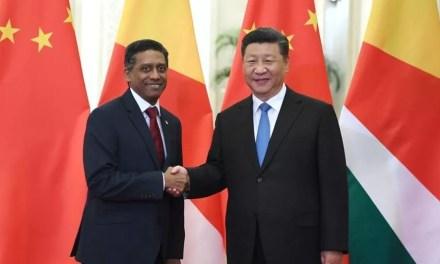 Xi Jinping rencontre le seychellois Danny Faure