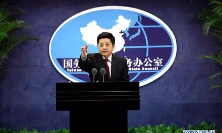 Réaction de Beijing suite aux élections à Taïwan