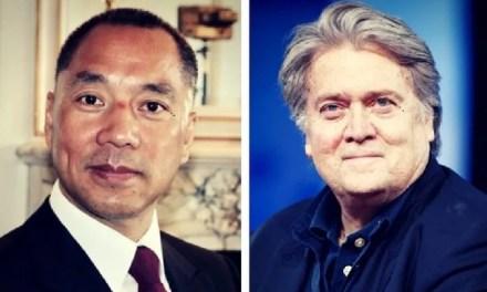 Steve Bannon et Guo Wengui attaquent la Chine