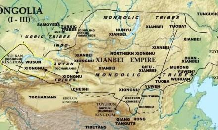 Ethnie Xianbei, nomade de Mongolie