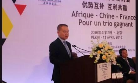 Ouverture du Colloque sur les partenariats tripartites Chine-France-Afrique