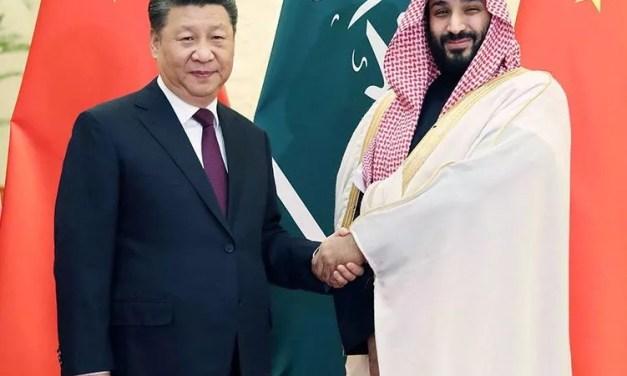 Le prince héritier saoudien en Chine
