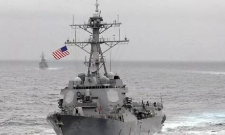 La marine américaine en mer de Chine, Beijing en rage