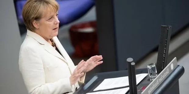 Angela Merkel a appelé à garantir «les libertés» de Hong Kong