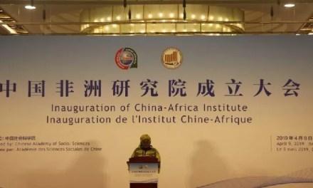 «L'Institut Chine-Afrique vient équilibrer les échanges» sino-africains