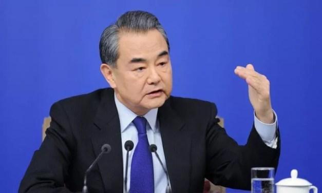 Wang Yi dénonce le «harcèlement économique des Etats-Unis