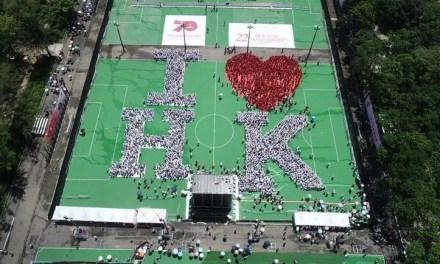 «I LOVE HK» mit en place le jour anniversaire de la rétrocession