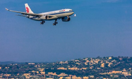Nice Côte d'Azur a accueilli son premier vol direct depuis la Chine