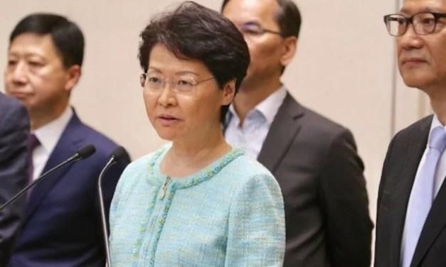 Carrie Lam assure que la loi sur la sécurité est l'événement «le plus important»