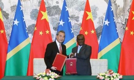 Etablissement des relations diplomatiques entre la Chine et les Îles Salomon
