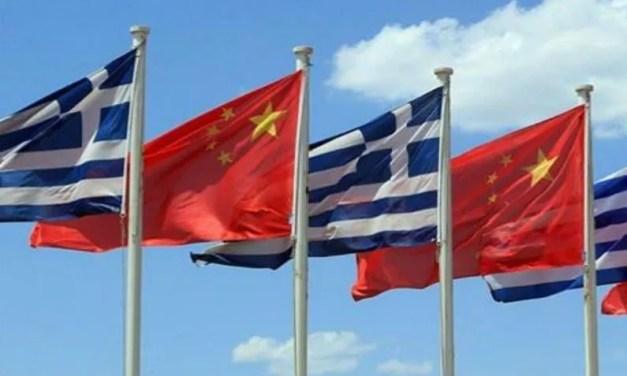 La Grèce porte entre la Chine et l'Union européenne (UE)