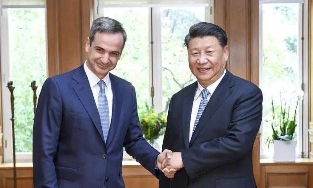 Xi Jinping en visite à Athènes