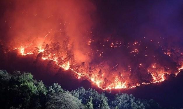 Feux de forêt à Xichang: plus de 1000 personnes ont été évacuées