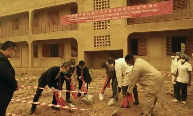 La Chine finance un centre d'isolement au CHU Yalgado Ouédraogo