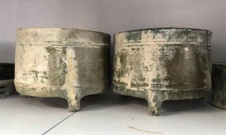 Découverte de plus de 600 tombes anciennes