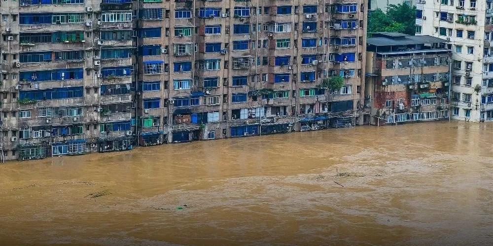 Inondations en Chine : 56 morts et un typhon menace l'est du pays