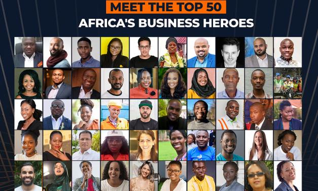 50 finalistes sélectionnés du concours «Africa's Business Heroes»
