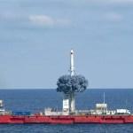 Espace : premier lancement commercial en mer en Chine