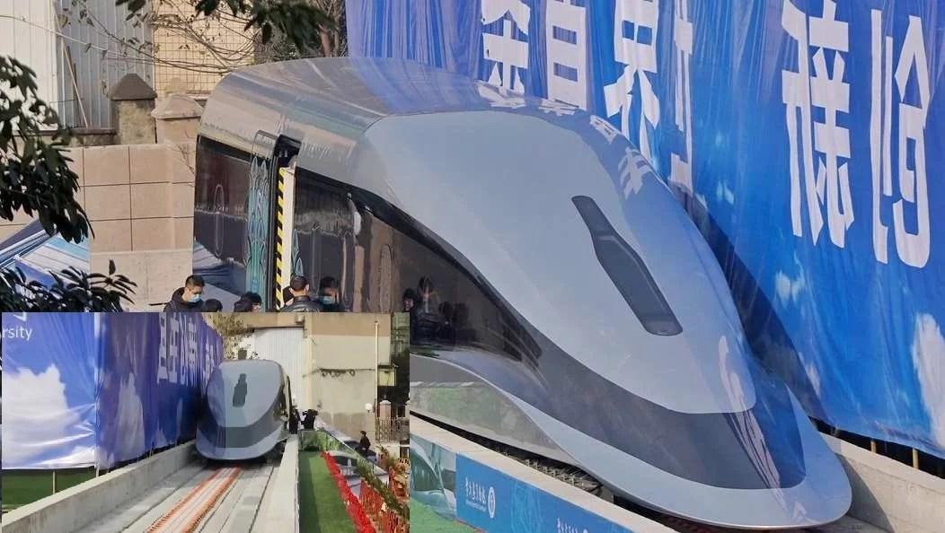 Un train à 600km/h arrive bientôt en Chine