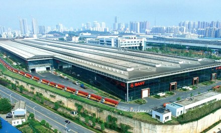 SANY est la plus grande entreprise d'équipement lourd de Chine en 2021