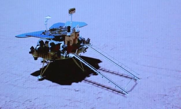 La Chine réussit à poser un robot sur Mars