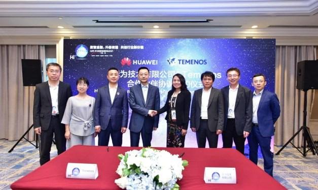 Huawei signe un accord de partenariat avec le suisse Temenos