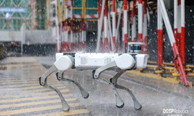 DEEP Robotics lance le premier chien robot chinois industriel