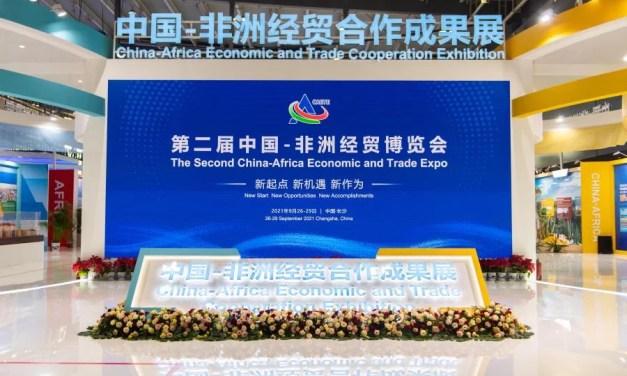 22,9 milliards de projets  signés à la 2e Exposition économique et commerciale Chine-Afrique