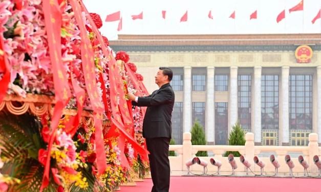 Le 1er octobre 2021 : la République Populaire de Chine a eu 72 ans