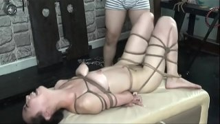 Sexy Chinese Nude Model taking BDSM Style Portarit. Watch more: http://123link.vip/hNC88n