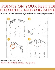 also points on your feet for headaches and migraines rh chinesefootreflexology