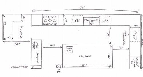 Mesmerizing Dream Kitchen Floor Plans Design Decoration Of - Chinese restaurant kitchen layout