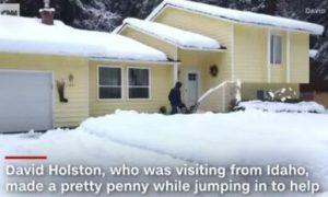 2 11 - 铲雪4天暴赚$35000 18岁小伙靠一个免费广告赚发了