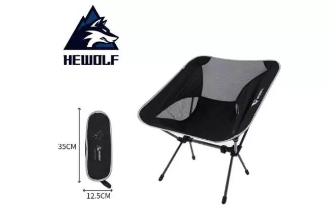 Hewolf户外便携式折叠椅$14.84(70% Off)