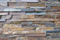 Artificial Rustic Slate Stacked Stone For Interior Wall ...