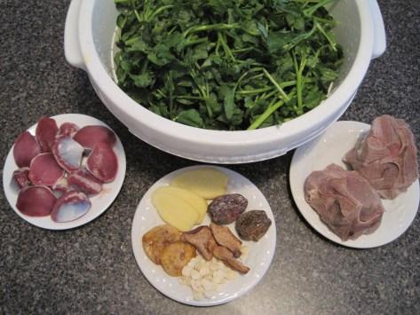 watercress soup ingredients