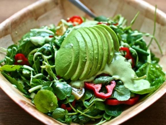 Avocado Salad for Liver Health
