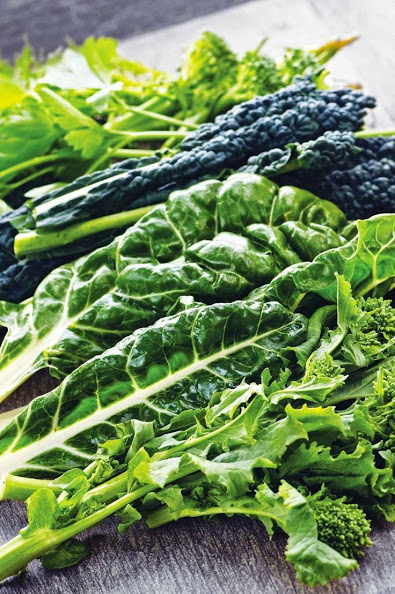 greens for a healthy liver